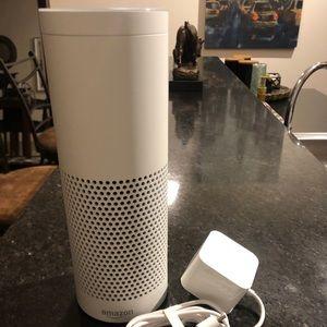 Amazon Echo is a hands-free speaker